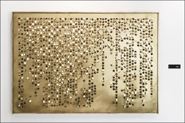 אמנות מתכת זהב פליז חיתוך לייזרר art fe