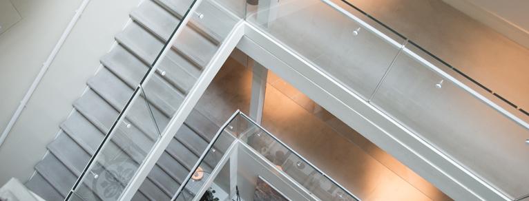 מדרגות מתכת פלדה מלון נורמן