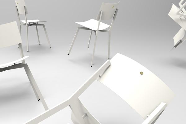 כסא תלמיד  - פנים 010
