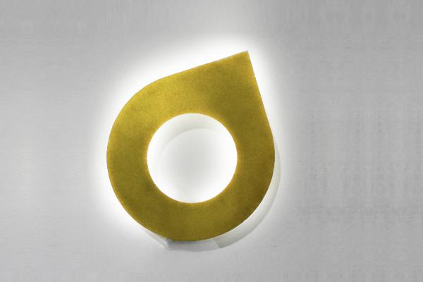 light gold drop up light brass